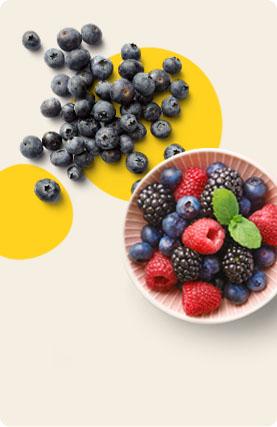 Corbeilles de fruits de saison