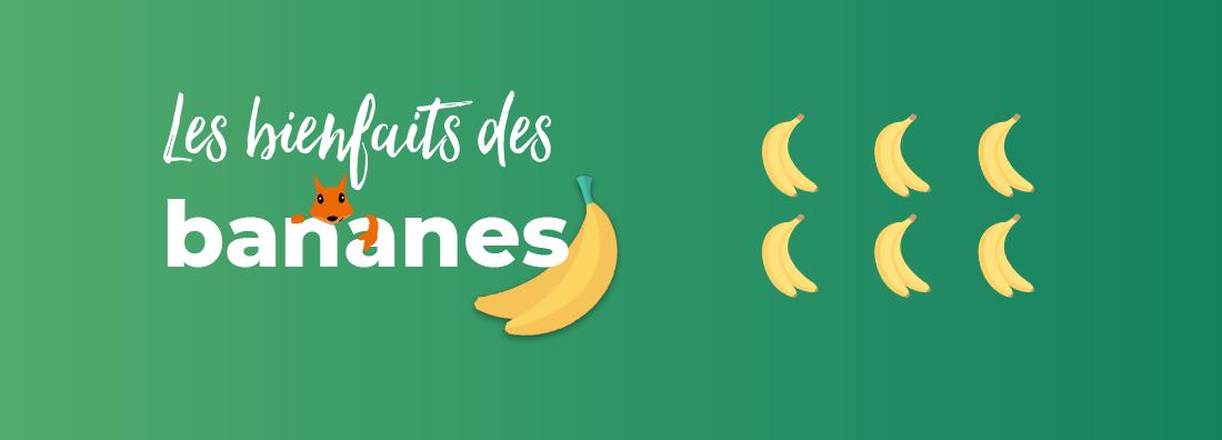 Les bienfaits des bananes sur la santé